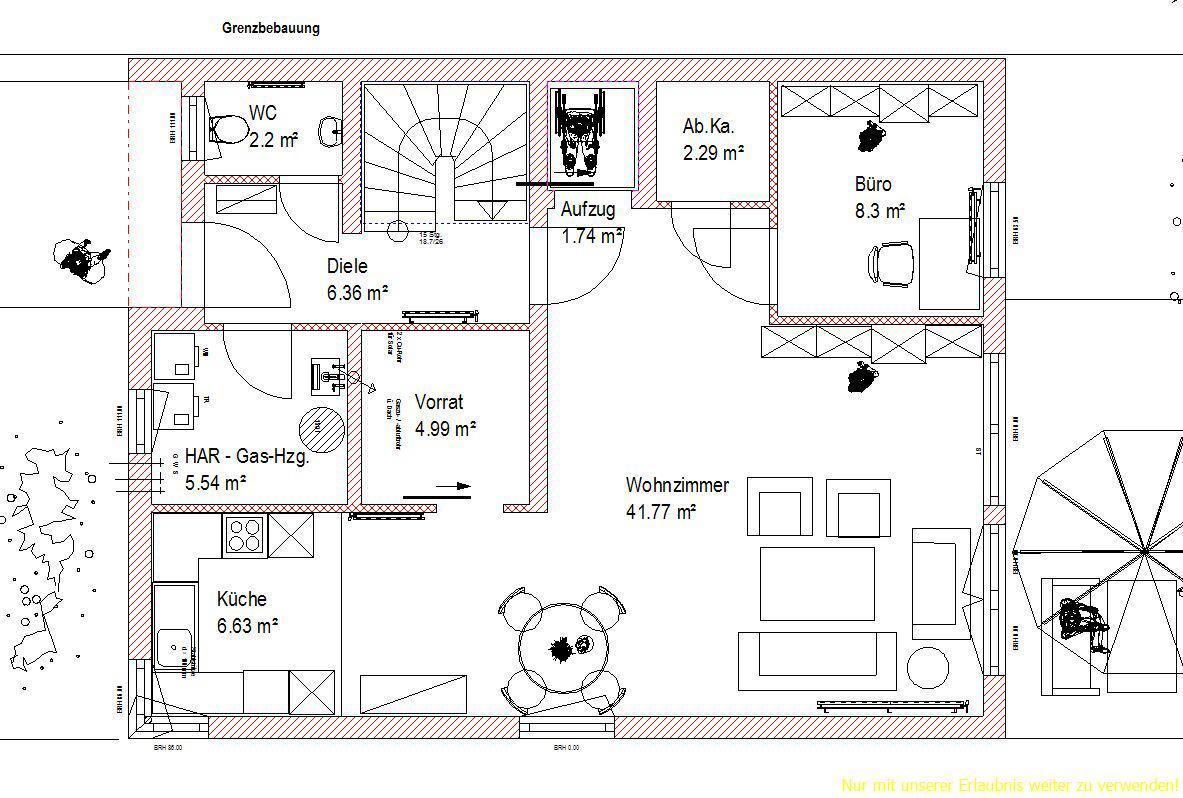 Dusche Rollstuhlgerecht Gr??e : Ihr Einfamilienhaus – rollstuhlgerecht geplant